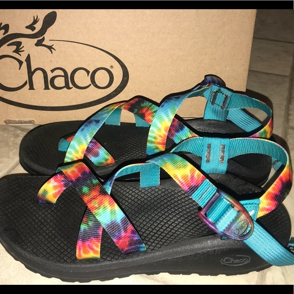 b82099d9b61 Chaco Shoes - Chaco LIMITED EDITION!! Tie-dye!!!! ZCLOUD